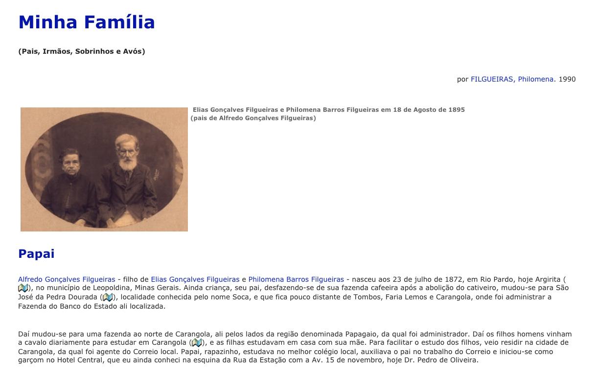 História da família Filgueiras