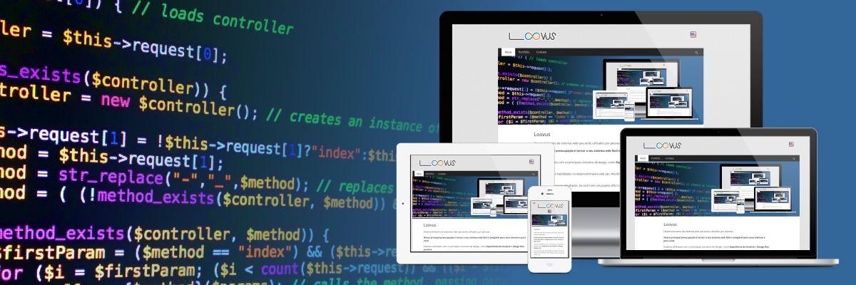 Loovus: Desenvolvimento de sistemas web que serão utilizados por pessoas.
